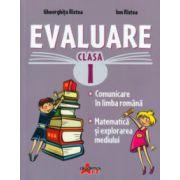 Evaluare clasa I ( Editura: Akademos, Autor: Gheorghita Ristea, Ion Ristea ISBN 978-606-8336-6-4 )