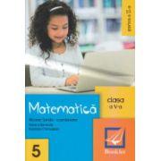Matematica clasa a 5 a partea a 2 a ( Editura: Booklet, Autor: Nicolae Sanda, Monica Berende, Nastasia Chiciudean ISBN 978-606-590-220-6 )
