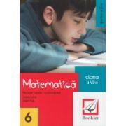 Matematica clasa a 6 a partea a 2 a ( Editura: Booklet, Autor: Nicolae Sanda, Adela Cotul, Valer Pop ISBN 978-606-590-221-3 )