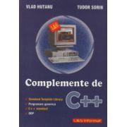 Complemente de C + + ( Editura: L & S, Autor: Vlad Hutanu, Tudor Sorin ISBN 973-7658-08-6 )