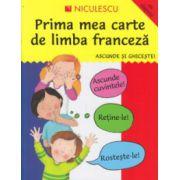 Prima mea carte de limba franceza, Ascunde si ghiceste, cu clapete ( Editura: Niculescu ISBN 978-973-748-906-7 )