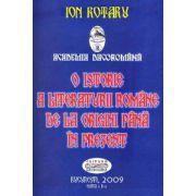 O istorie a Literaturii Romane de la origini pana in prezent ( Editura: Academia Dacoromana, Autor: Ion Rotaru ISBN 978-973-7782-42-7 0 )