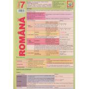 Pliant Limba romana, sintaxa pentru clasa a 7 a ( Editura: Booklet, Autor: Florin Ionescu )