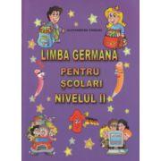 Limba germana pentru scolari nivelul II ( Editura: Carta Atlas, Autor: Alexandrina Ciobanu ISBN 978-606-93661-9-6 )