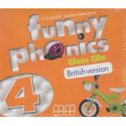 Funny phonics 4 Class CD's British version ( Editura: MM Publications, Autor: H. Q. Mitchell, Marileni Malkagianni ISBN 9789604788811 )