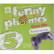 Funny Phonics 5 Class CD's British Version ( Editura: MM Publications, Autor: H. Q. Mitchell, Marileni Malkogianni ISBN 978-960-478-882-8 )