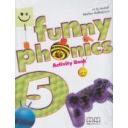 Funny Phonics 5 Activity Book ( Editura: MM Publications, Autor: H. Q. Mitchell, Marileni Malkogianni ISBN 978-960-478-837-8 )