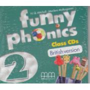 Funny phonics 2 Class CD's British Version ( Editura: MM Publications, Autor: H. Q. Mitchell, Marileni Malkogianni ISBN 978-960-478-879-8 )