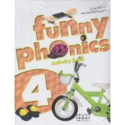 Funny Phonics 4 Activity Book ( Editura: MM Publications, Autor: H. Q. Mitchell, Marileni Malkogianni 978-960-478-835-4 )