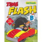 Time flash B Workbook + CD-rom ( Editura: MM Publications, Autor: H. Q. Mitchell, ISBN 978-960-379-898-9 )