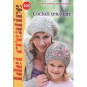 Caciuli tricotate ( nr. 105 ) ( Editura: Casa, Autor: Tanja Steinbach ISBN 978-606-8527-66-6 )