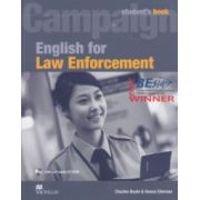 Campaign English for Law Enforcement Student's Book + CD ROM ( Editura: Macmillan, Autor: Charles Boyle, Ileana Chersan ISBN 978-0-2307-3258-2 )