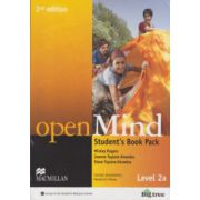 Open Mind Student 's Book Pack Level 2a 2nd edition with DVD ( Editura: Macmillan, Autor: Mickey Rogers, Joanne Taylore - Knowles, Steve Taylore - Knowles ISBN 978-0-230-45943-4 )