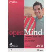 Open Mind Student's Book Pack Level 3a 2nd edition with DVD ( Editura: Macmillan, Autor: Mickey Rogers, Joanne Taylore-Knowles, Steve Taylore-Knowles ISBN 978-0-230-45973-1 )