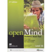Open Mind Student 's Book Pack Level 1b 2nd edition with DVD ( Editura: Macmillan, Autor: Mickey Rogers, Joanne Taylore-Knowles, Steve Taylore-Knowles ISBN 978-0-230-45910-6 )