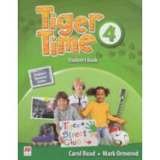 Tiger Time 4 Student's Book ( Editura: Macmillan, Autor: Carol Read, Mark Ormerod ISBN 978-0-230-48405-4 )