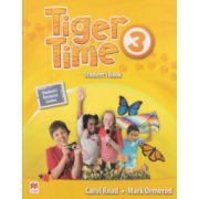 Tiger Time 3 Student's Book ( Editura: Macmillan, Autor: Carol Read, Mark Ormeron ISBN 978-0-230-48400-9 )