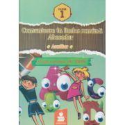 Comunicare in limba romana Abecedar Auxiliar clasa 1 dupa varianta Du - Pres( Editura: Euristica ISBN 978-973-7819-95-6 )