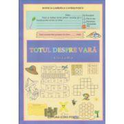 Totul despre vara clasa a II a ( Editura: Maxim Bit, Autor: Rodica Gabriela Gavris-Pascu ISBN 978-606-8411-23-1 )