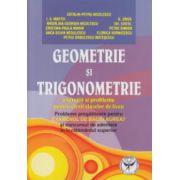 Geometrie si trigonometrie culegere pentru bacalaureat ( Editura: Icar, Autor: Catalin-Petru Nicolescu ISBN 978-973-606-119-9 )