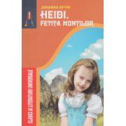 Heidi fetita muntilor ( Editura: Astro, Autor: Johanna Spyri ISBN 978-606-8148-88-5 )