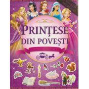 Printese din povesti Carte cu abtibilduri ( Editura: Flamingo GD ISBN 978-606-713-038-6 )