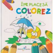 Imi place sa colorez nr 1 ( Editura: All ISBN 978-606-8578-49-1 )