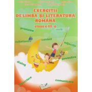 Exercitii de limba si literatura romana clasa a III a ( Editura: Ars Libri, Autor ; Adina Grigore, Maria Raicu, Cristina Ipate Toma ISBN 978-606-574-756-2 )
