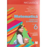 Matematica exercitii si probleme clasa 6 ( Editura: Niculescu, Autor: Valeria Buduianu, Calina-Cristina irimie ISBN 978-973-748-929-6 )
