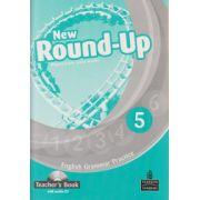 New Round Up 5 Teacher s Book with audio CD ( Editura: Longman, Autor: Virginia Evans, Jenny Dooley ISBN 9781408235003 )