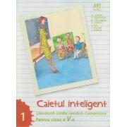Caietul inteligent Literatura, Limba Romana, Comunicare pentru clasa a V a semestrul I ( Editura: Art Grup Editorial, Autor: Florin Ionita ISBN 978-606-710-109-6 )