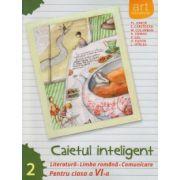 Caietul inteligent Literatura, Limba Romana, Comunicare pentru clasa a VI a semestrul II ( Editura: Art Grup Editorial, Autor: Florin Ionita ISBN 978-606-710-169-0 )