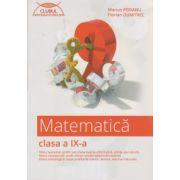 Matematica clasa a IX a culegere Clubul Matematicienilor ( Editura: Art Grup Editorial, Autor: Marius Perianu ISBN 978-606-710-098-3 )
