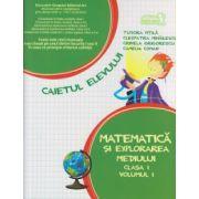 Matematica si explorarea mediului caietul elevului clasa I a partea I ( Editura: Art Grup Editorial, Autor: Tudora Pitila, Cleopatra Mihailescu, Crinela Grigorescu, Camelia Coman ISBN 978-606-710-149-2 )