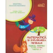 Matematica si explorarea mediului Manual pentru clasa a II a, partea I+CD ( Editura: Art Grup Editorial, Autor: Tudora Pitila, Cleopatra Mihailescu ISBN 978-606-710-131-7 )