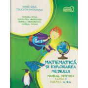 Matematica si explorarea mediului manual pentru clasa I partea a II a+CD ( Editura: Art Grup Editorial, Autor: Tudora Pitila, Cleopatra Mihailescu, Crinela Grigorescu, Camelia Coman ISBN 978-606-710-130-0 )