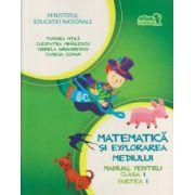 Matematica si explorarea mediului manual pentru clasa I partea I + CD ( Editura: Art Grup Editorial, Autor: Tudora Pitila, Cleopatra Mihailescu, Crinela Grigorescu, Camelia Coman ISBN 978-606-710-129-4 )