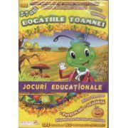 Bogatiile toamnei - Jocuri educationale - prescolari, gradinita (editura: EduTeca, ISBN 978-606-93111-1-0 )