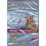 Clinchet de clopotei - CD cu jocuri educationale 3-7 ani ( editura: EduTeca, ISBN 978-606-93111-3-4 )