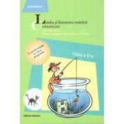 Limba si literatura romana - Comunicare - Fise de lucru clasa a V-a semestrul I ( editura: Nomina, autor: Maria - Emilia Goian, ISBN 978-606-535-511-8 )