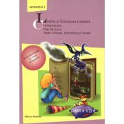 Limba si literatura romana - Comunicare - Fise de lucru clasa a VII-a semestrul I ( editura: Nomina, autor: Maria-Emilia Goian, ISBN 978-606-535-513-2 )