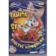Fanica si asaltul microbilor - Jocuri educationale 3-7 ani ( editura: EduTeca, ISBN 978-606-93111-9-6 )