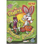 Fanica si secretul legumelor - CD cu jocuri educationale 3-7 ani ( editura: EduTeca, ISBN 978-606-93511-1-6 )