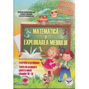 Matematica: exercitii si probleme, teste de evaluare pentru elevii claselor III - IV, editie noua ( editura: Universal Pan, autor: Elisabeta Mesaros ISBN 9789736065057 )