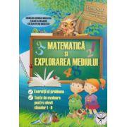 Matematica: exercitii si probleme, teste de evaluare pentru elevii claselor I - II, editie noua ( editura: Icar, autor: Elisabeta Mesaros ISBN 9789736065040 )