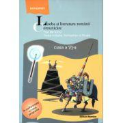 Limba si literatura romana - Comunicare - Fise de lucru clasa a VI-a semestrul I ( editura: Nomina, autor: Mihaela Cirstea, ISBN 978-606-535-512-5 )