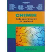 Chimie teste pentru clasele de excelenta ( Editura: Mistral, Autor: Daniela Bogdan ISBN 978-606-8338-14-9 )