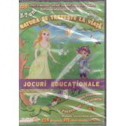 Natura se trezeste la viata - CD cu jocuri educationale 3-7 ani ( editura: EduTeca, ISBN 978-606-93111-4-1 )