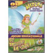 Natura se trezeste la viata - invata in limba engleza - CD cu jocuri educationale 5-7ani ( Editura: EduTeca, ISBN 978-606-92621-0-8 )