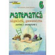 Matematica algebra, geometrie, partea I, semestrul I clasa a 6 a consolidare ( Editura: Paralela 45, Autor: Dan Zaharia, Maria Zaharia ISBN 978-973-47-2119-1 )